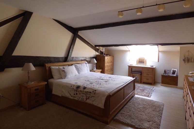 Master bedroom - house