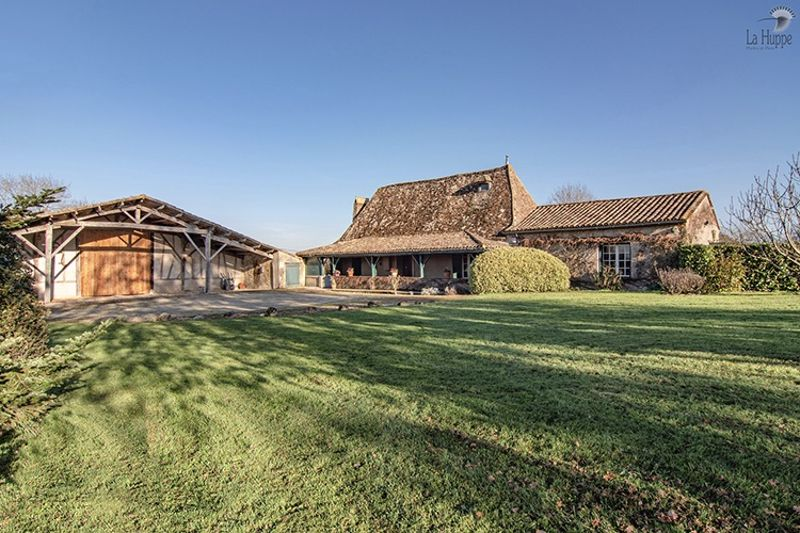 The house and barn