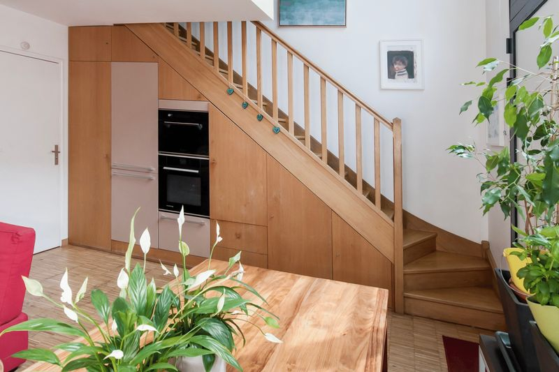 Dining room stairs