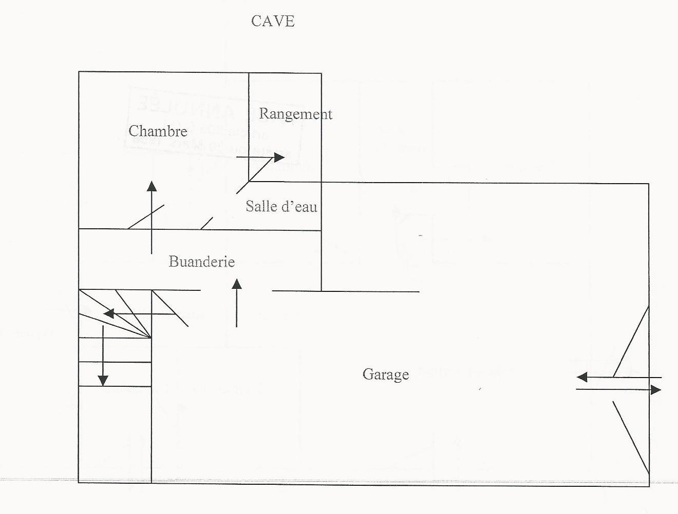 Garage - not to scale