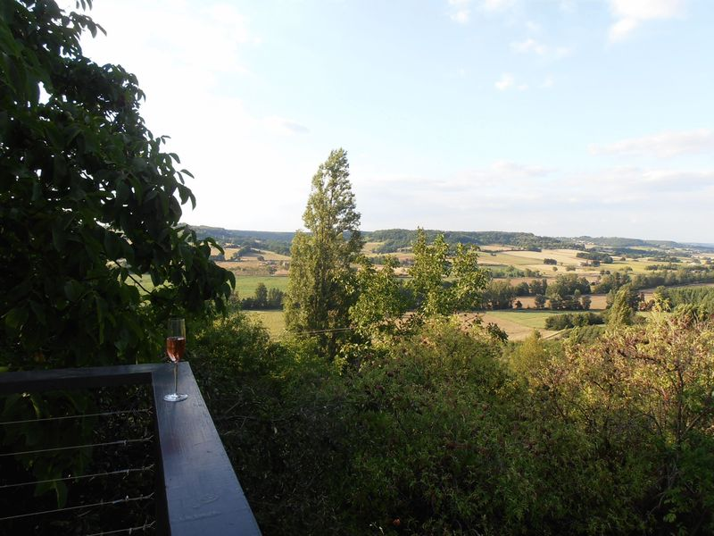 Valley view from the terrace