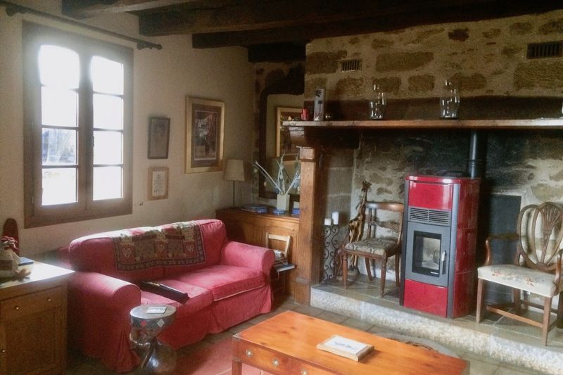 Sitting room fire place