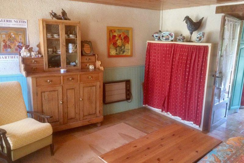 Ground floor bed-sitting room leading to summer ki