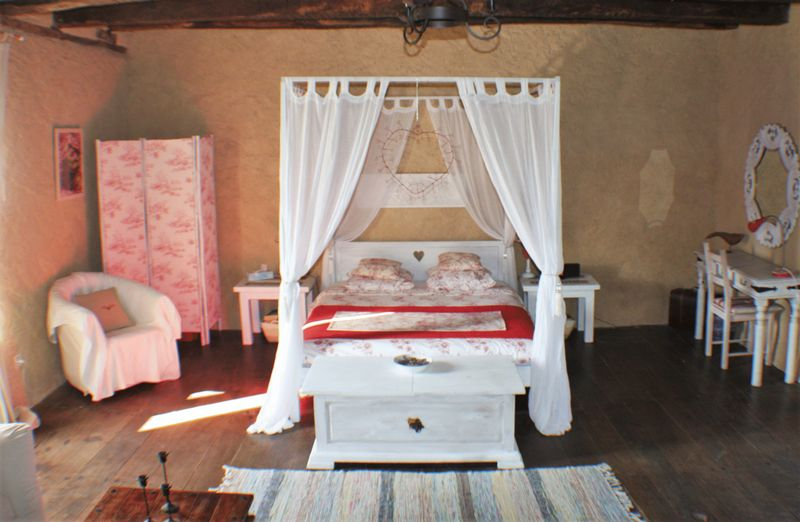 Gite: master bedroom