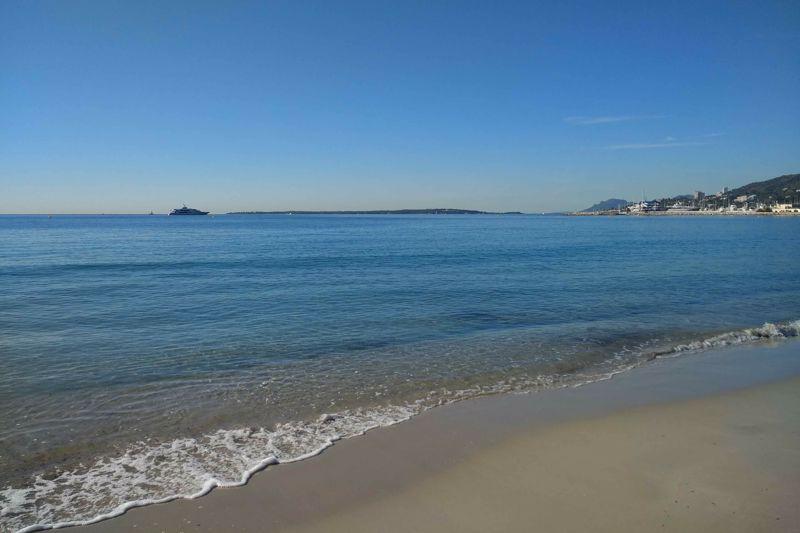 The beach - a three minute walk away