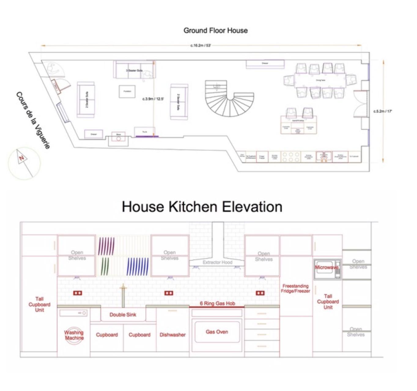 Main house - ground floor