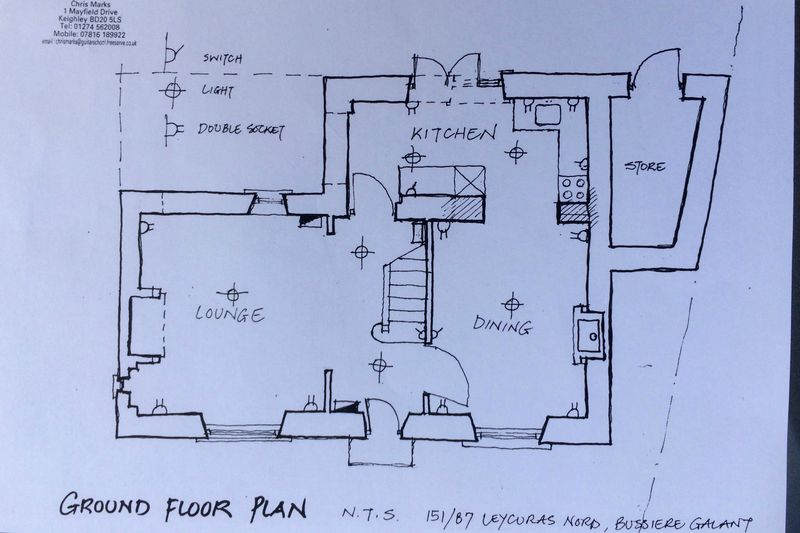 25. House ground floor plan