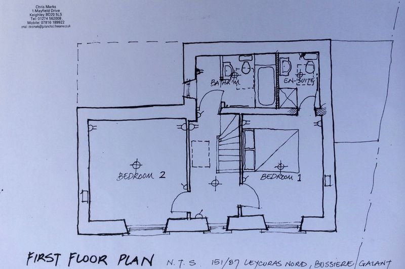 26. House first floor plan