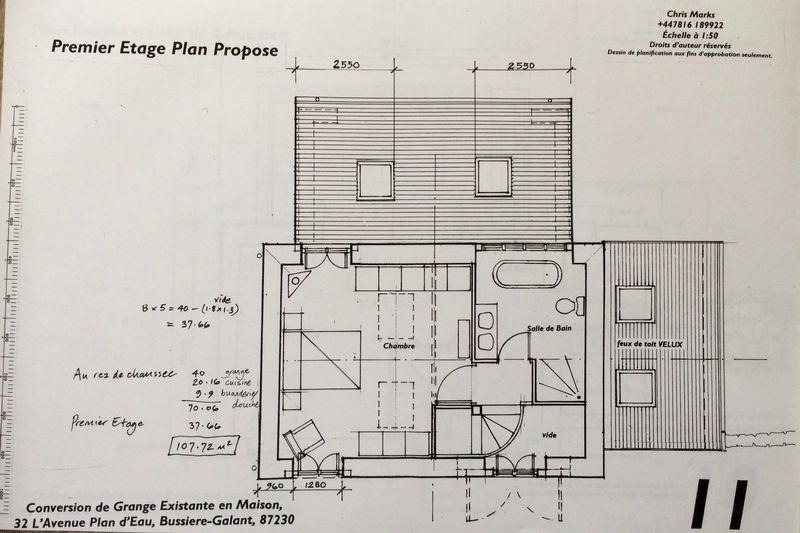 29. Barn proposed first floor plan