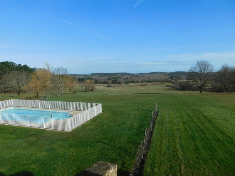 The pool and pasture