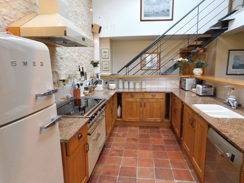 Owners' private kitchen