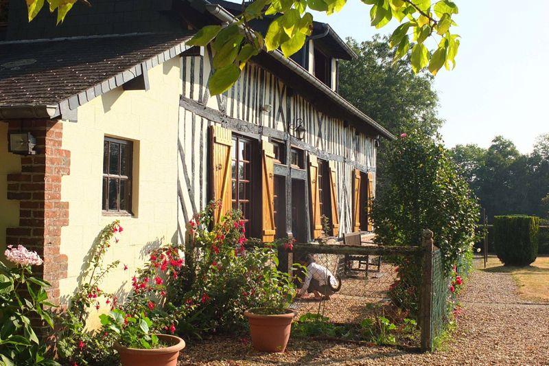 Half timbered facade