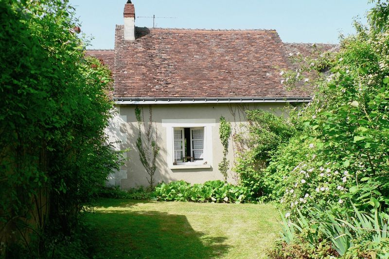 The house viewed from the barn