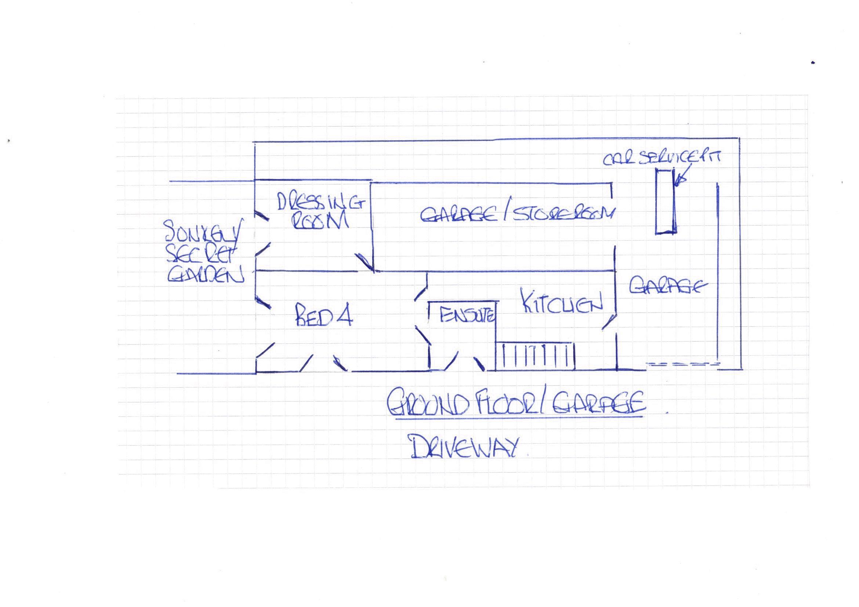 Ground floor and garage