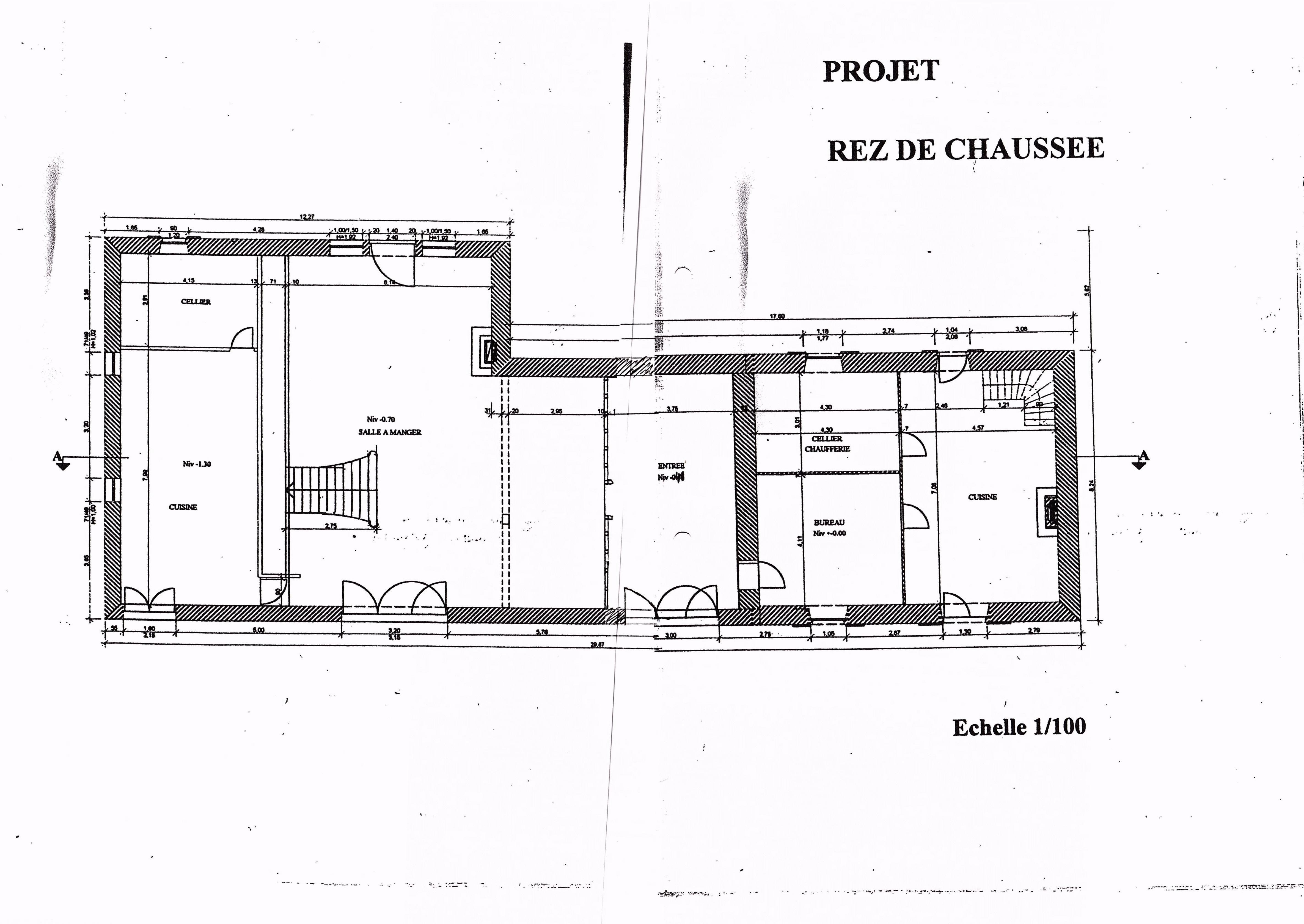 Ground floor - Farmhouse