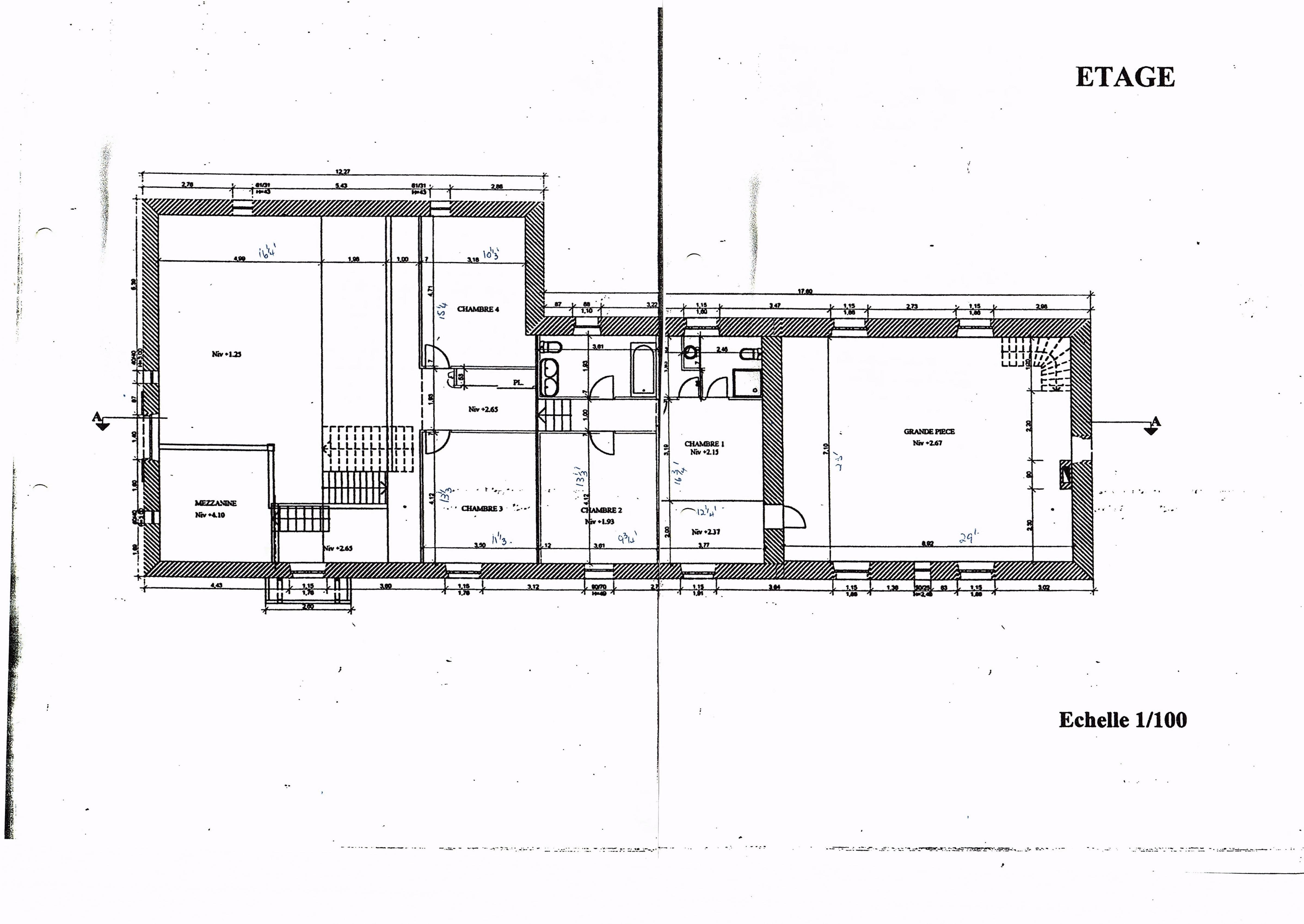 First floor - Farmhouse