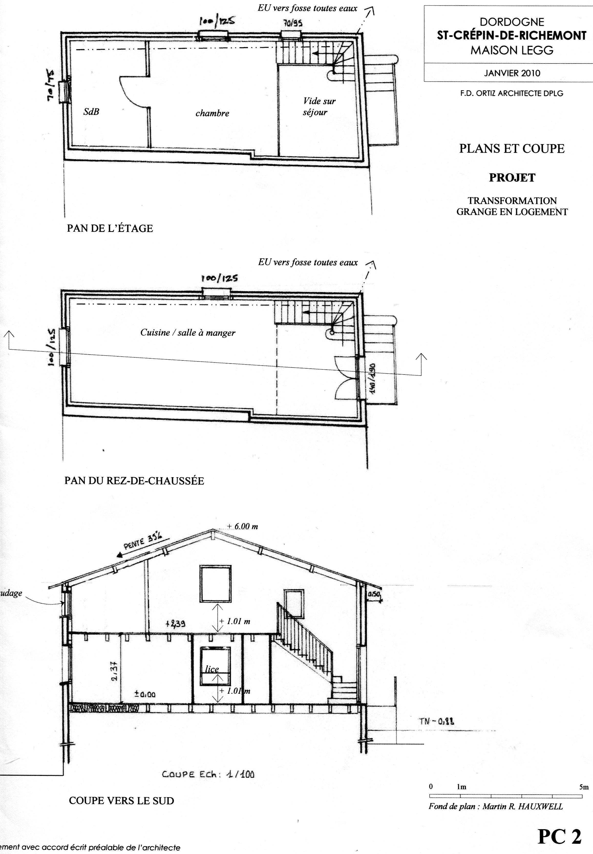 Barn - outline plans for development