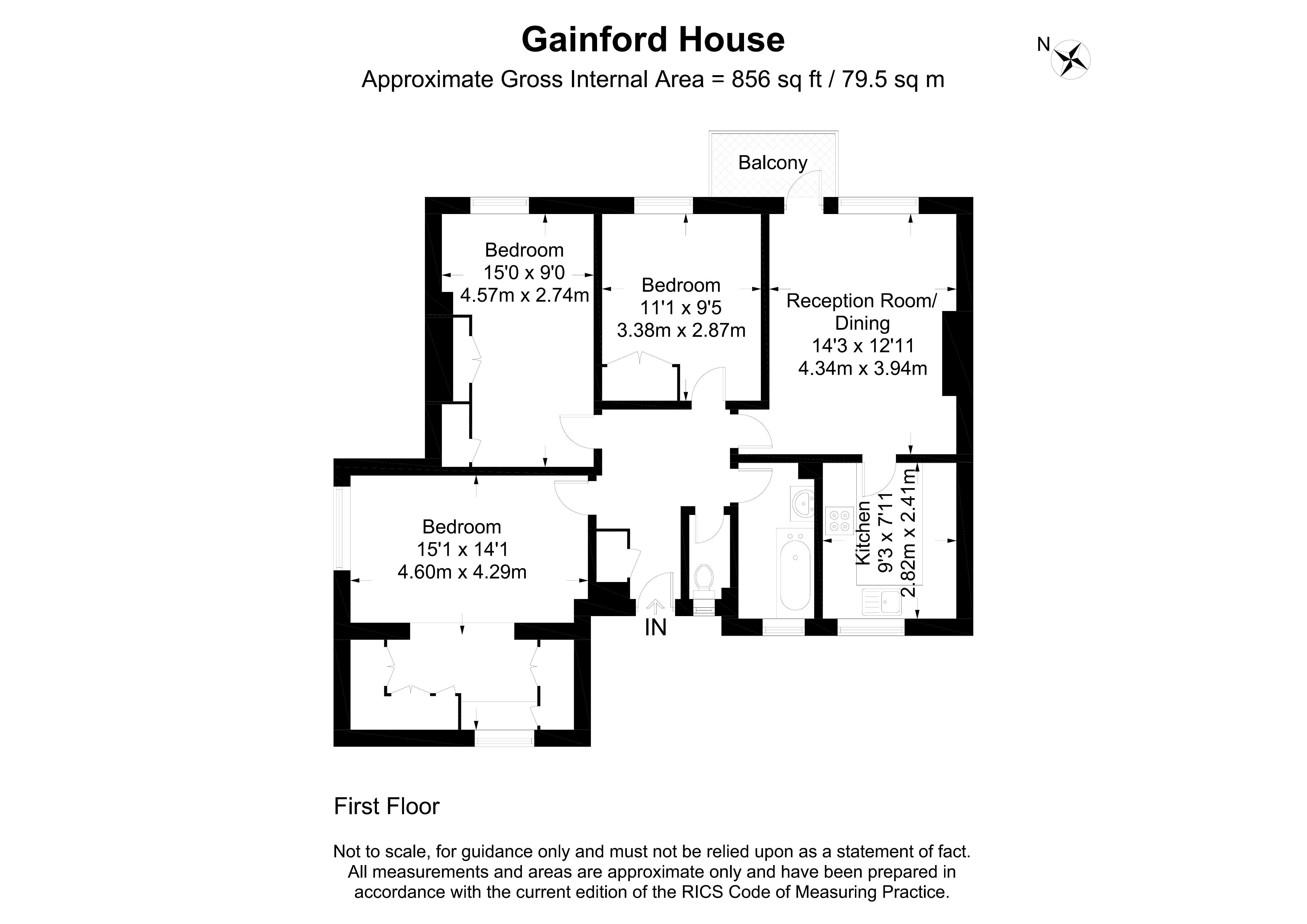 Gainford House, Ellsworth Street