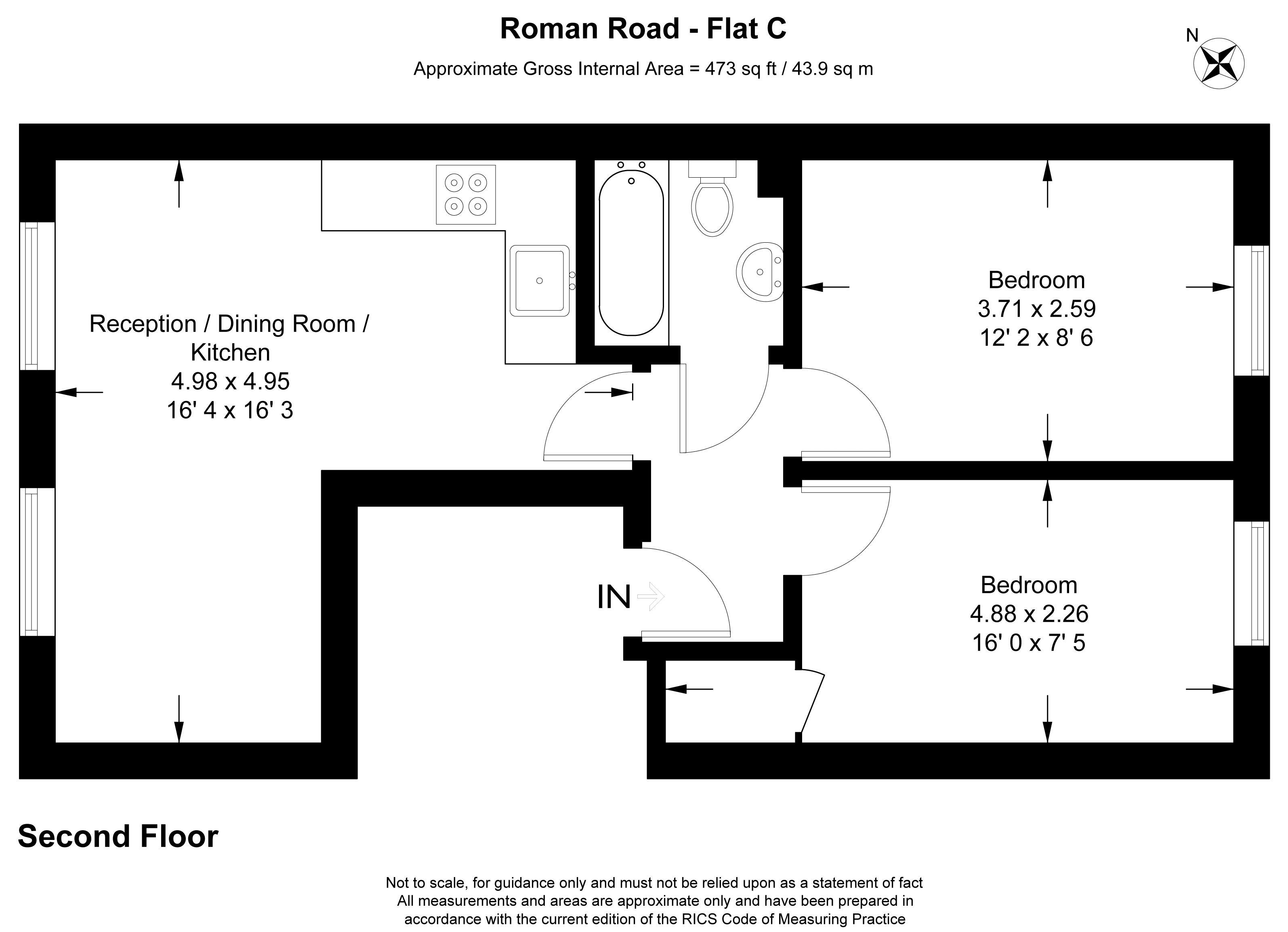Roman Road Bow