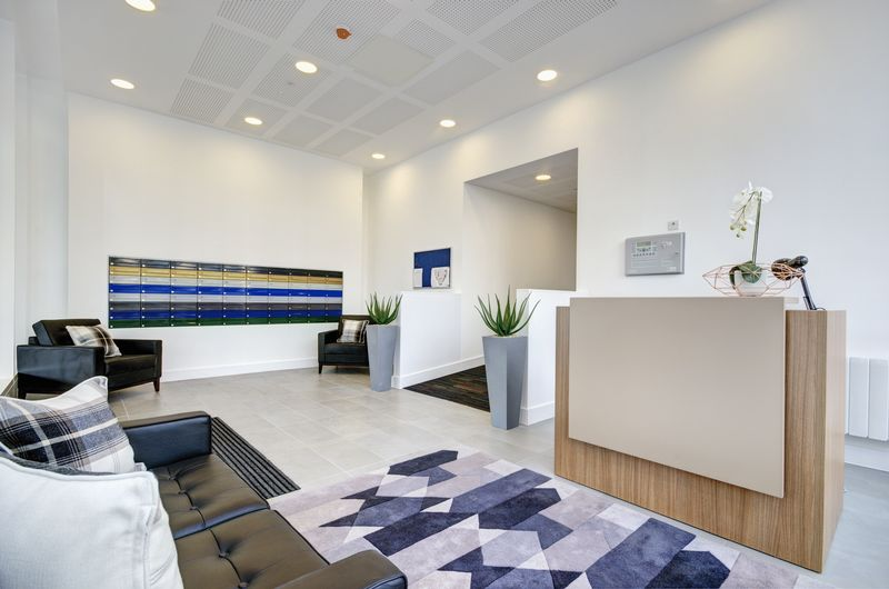 Reception area for Elstree House