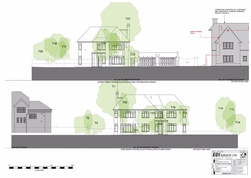 Existing Street Elevations