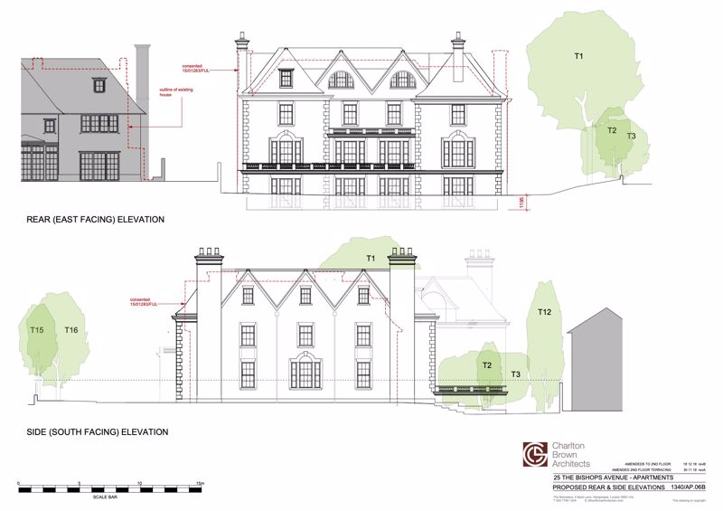 Proposed Rear & Side Elevations