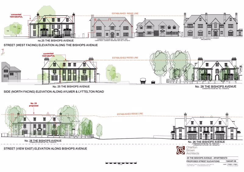 Proposed Street Elevations
