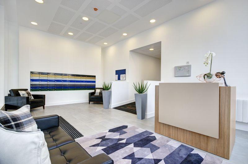 Reception area to Elstree House
