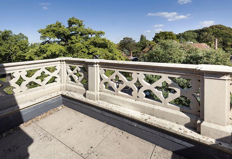 Second floor terrace