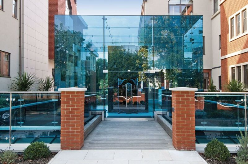 Glass Communal Entrance