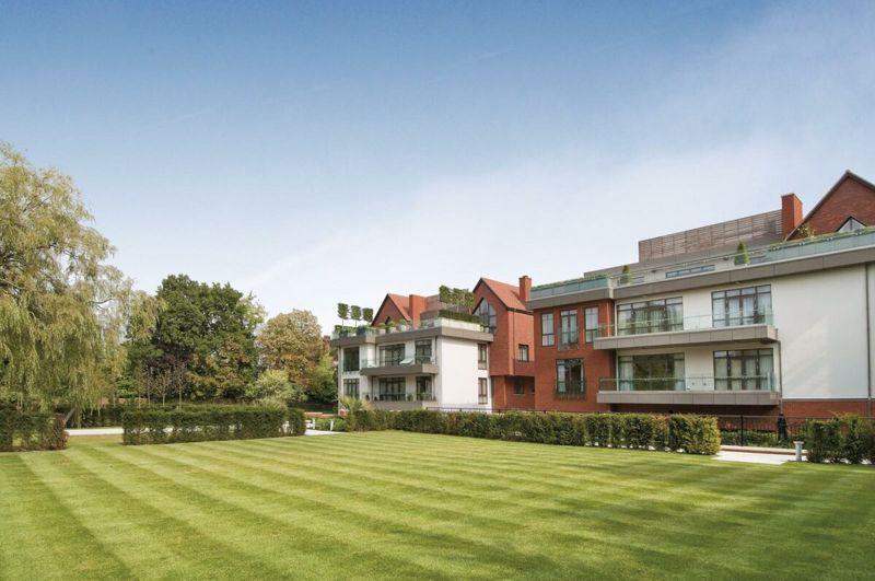 Rear Elevation and Communal Garden