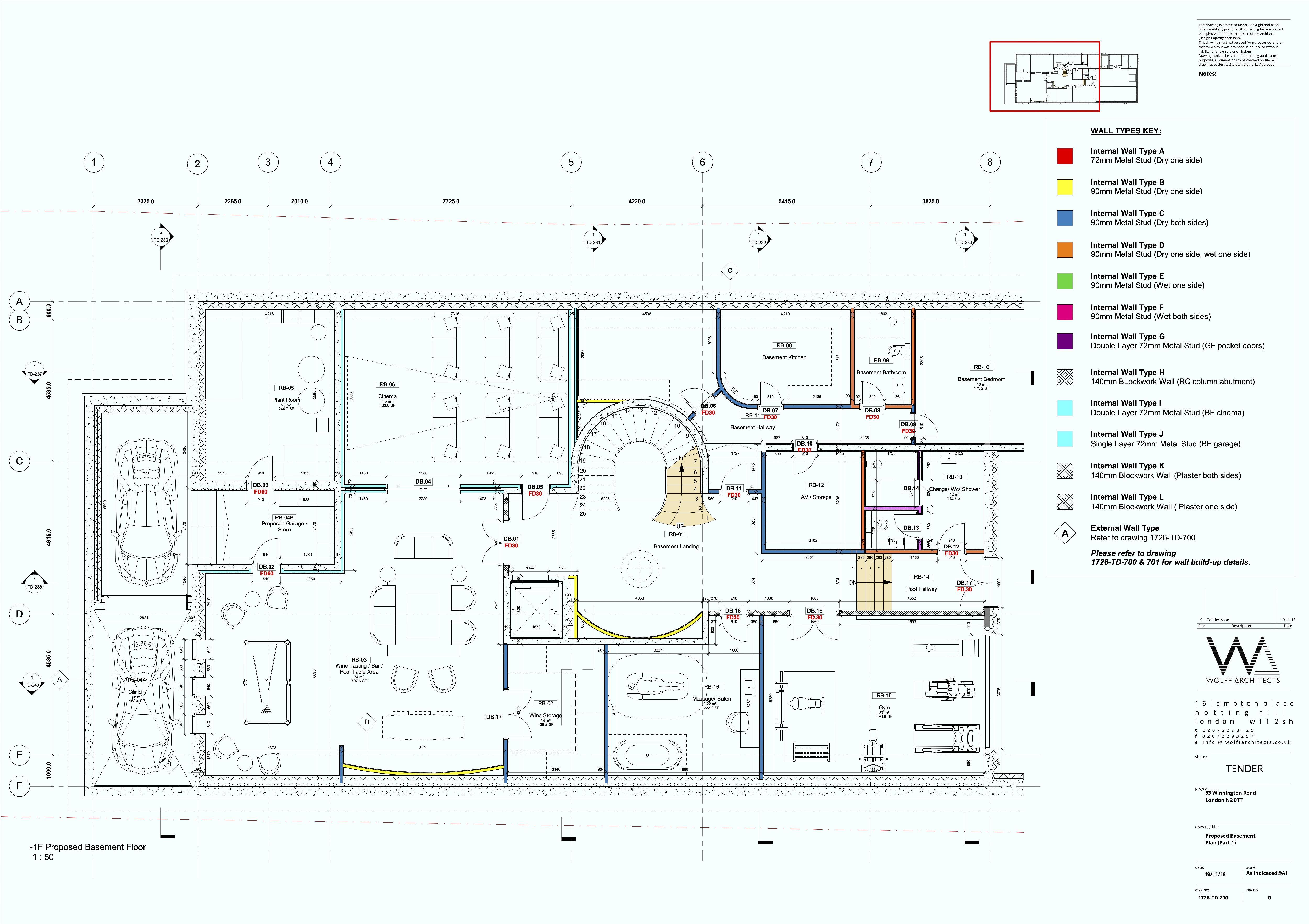 Basement Floor Plans Pt. 1
