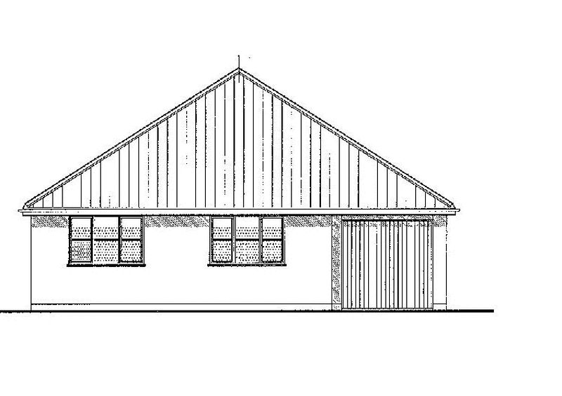 Plot 1 Front elevation