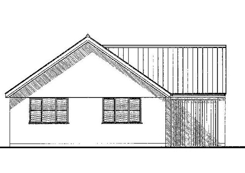 Plot 2 Front elevation