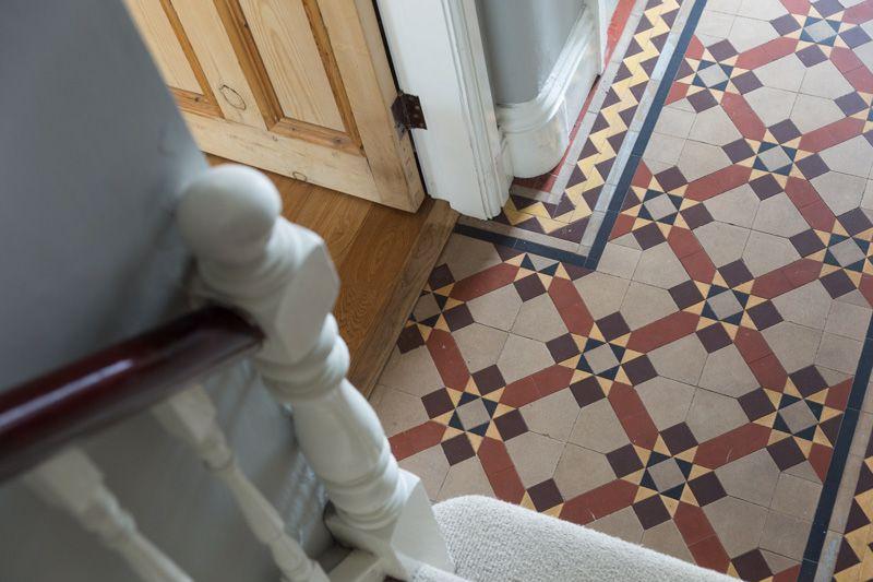 Minton tile floor