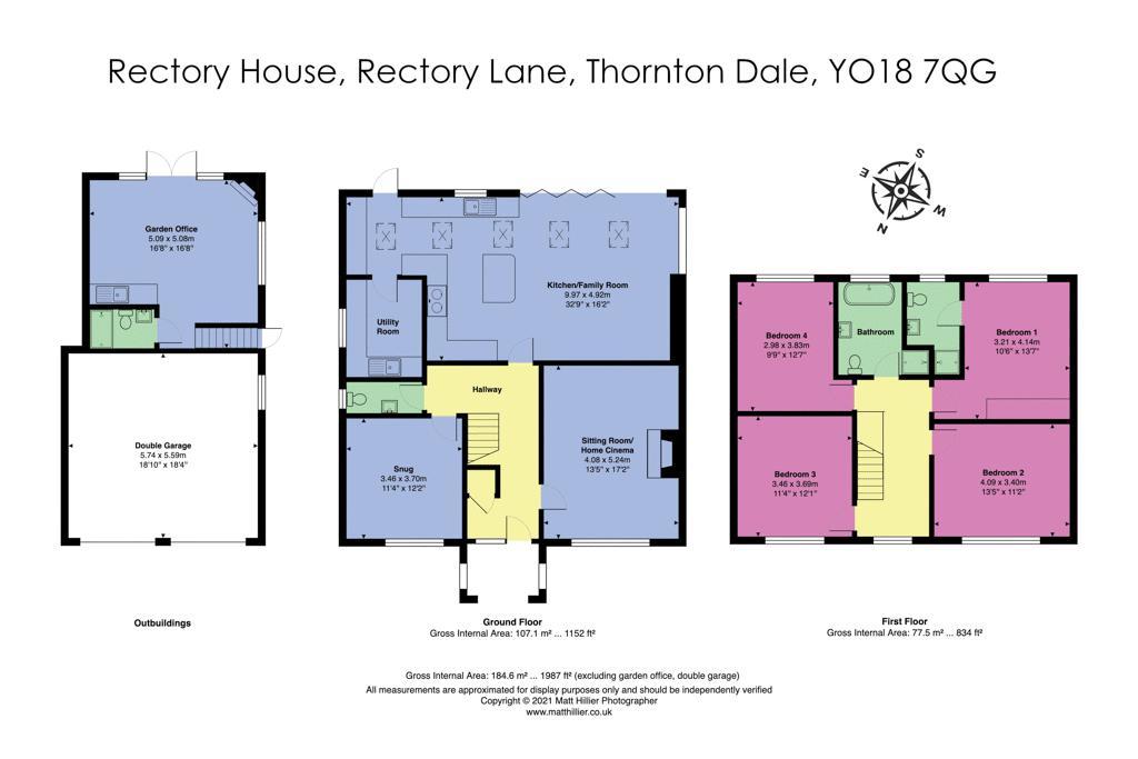Rectory Lane Thornton-Le-Dale
