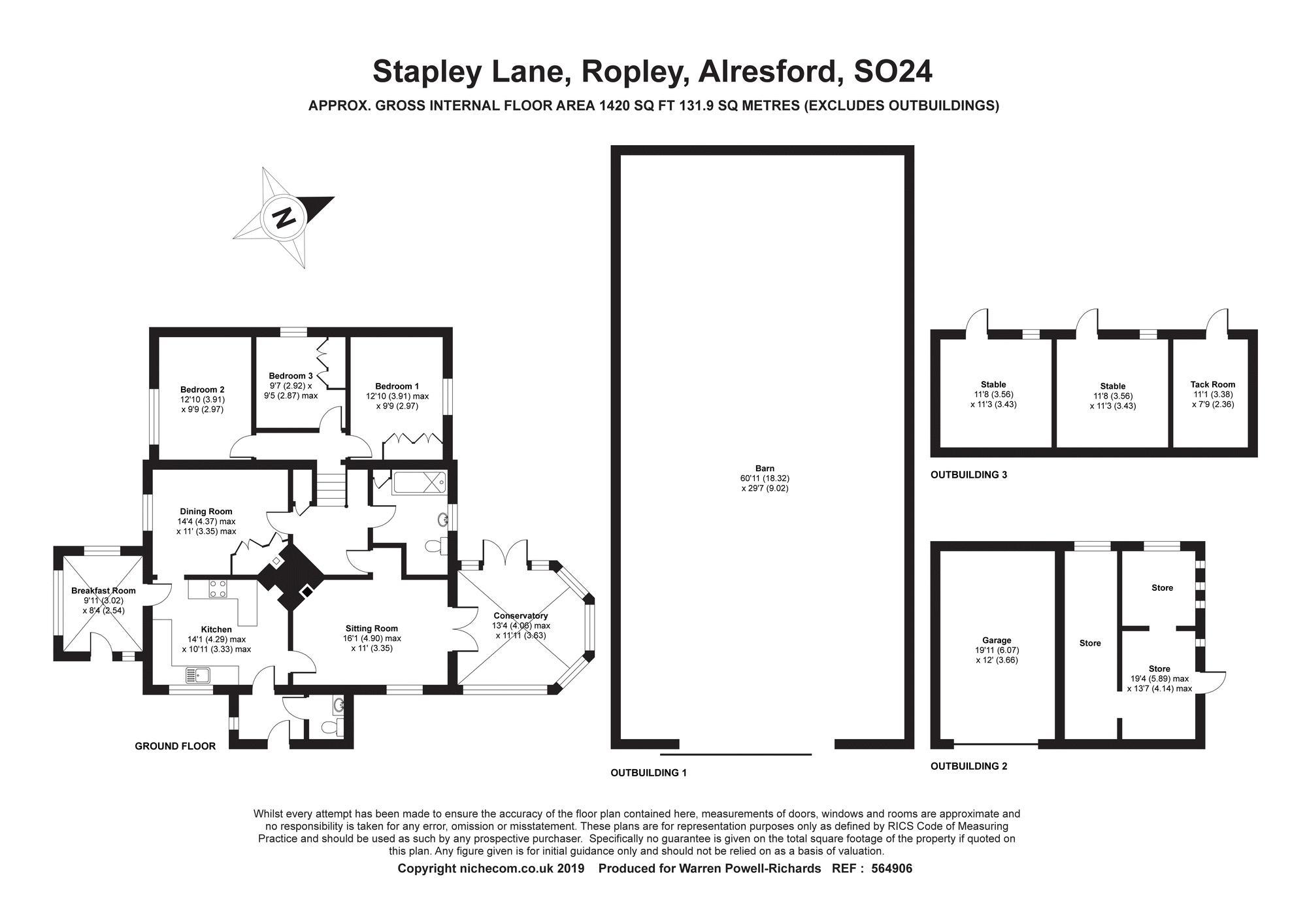 Stapley Lane Ropley