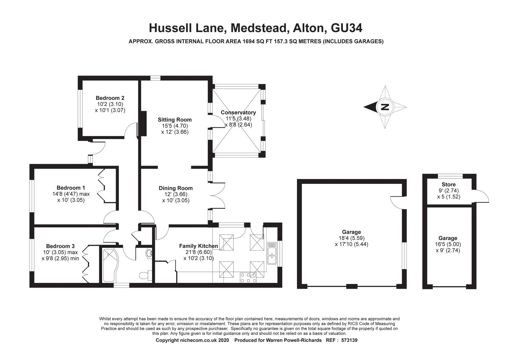 Hussell Lane Medstead