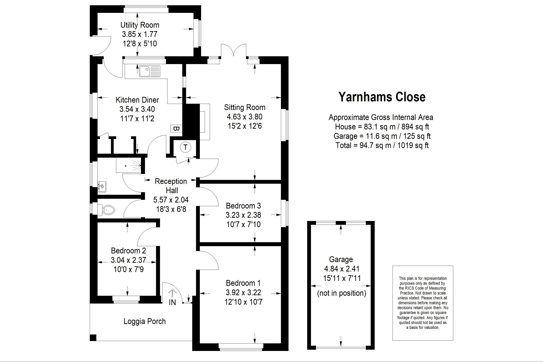 4 Yarnhams Close Four Marks