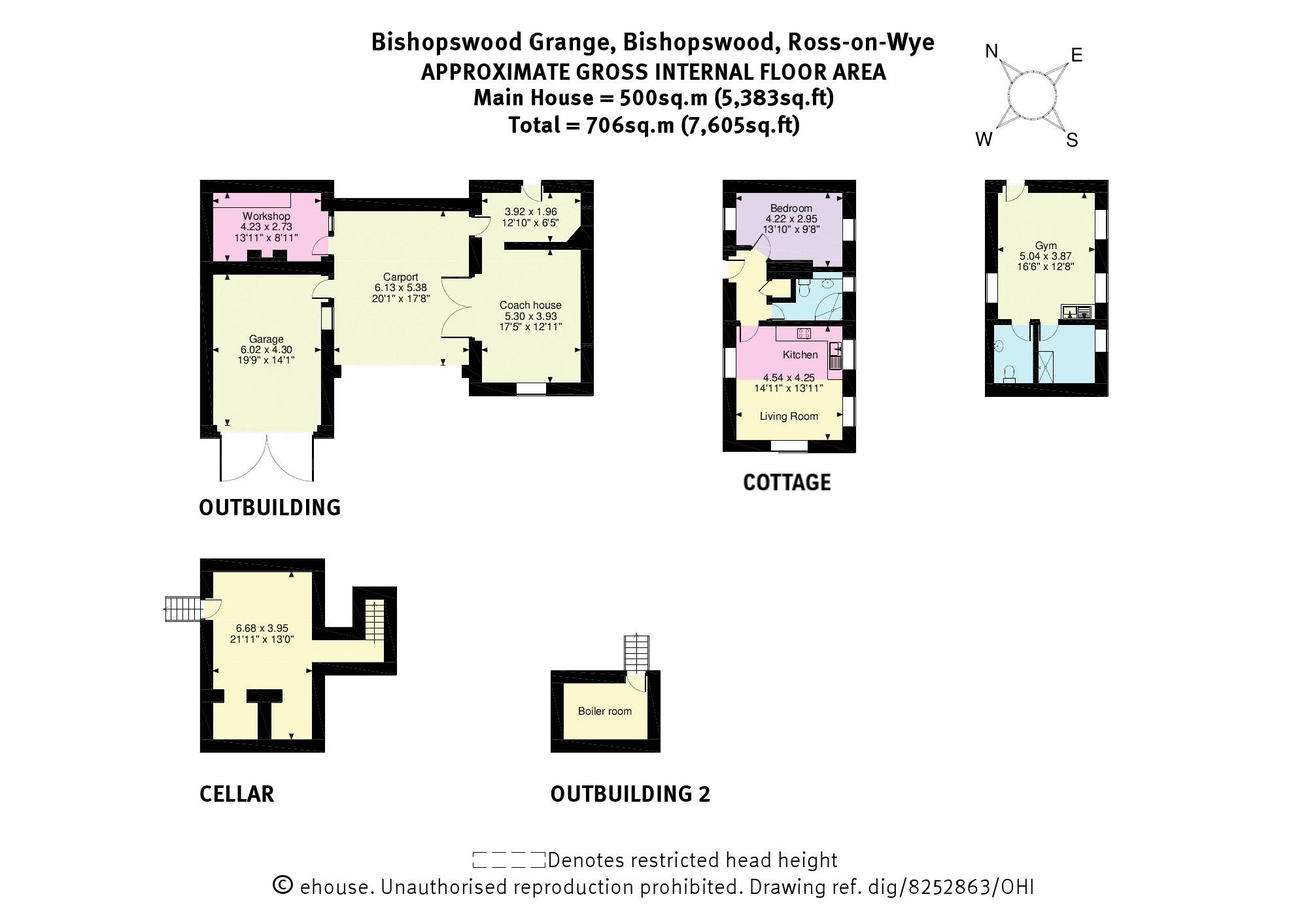 Floorplan Outbuildings