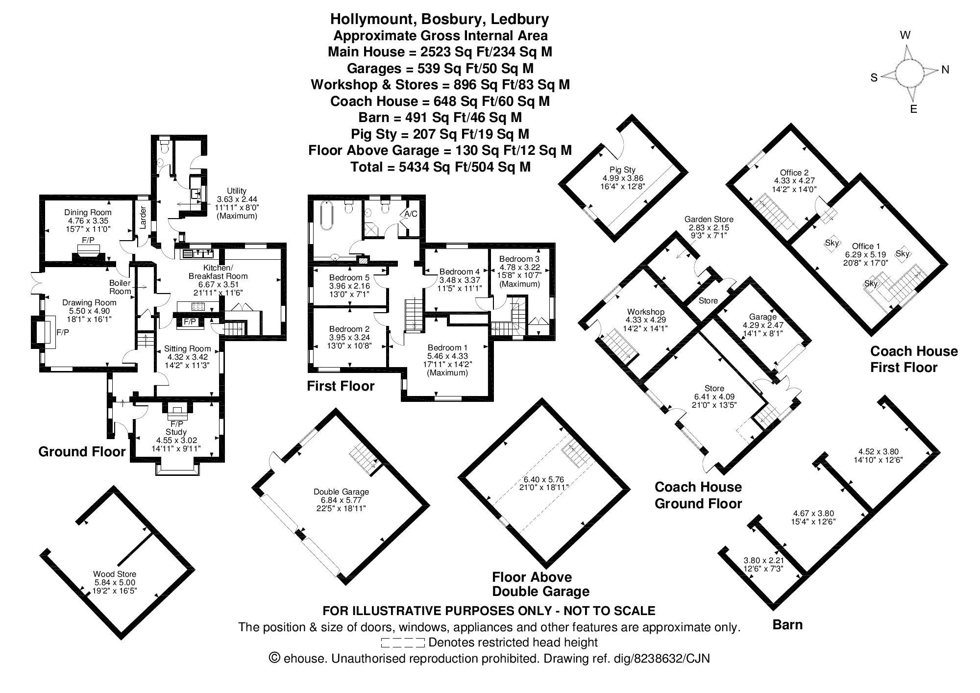 Hollymount Floorplan