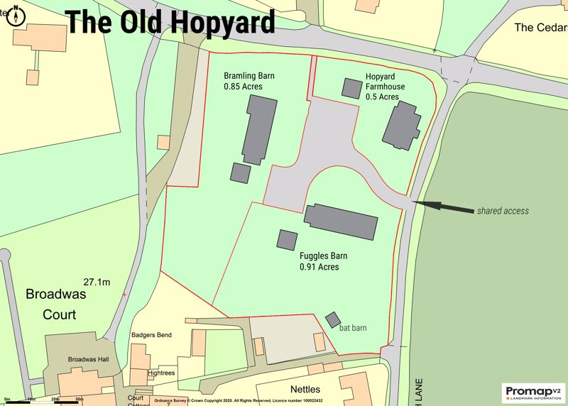 The Old Hopyard, Church Lane Broadwas