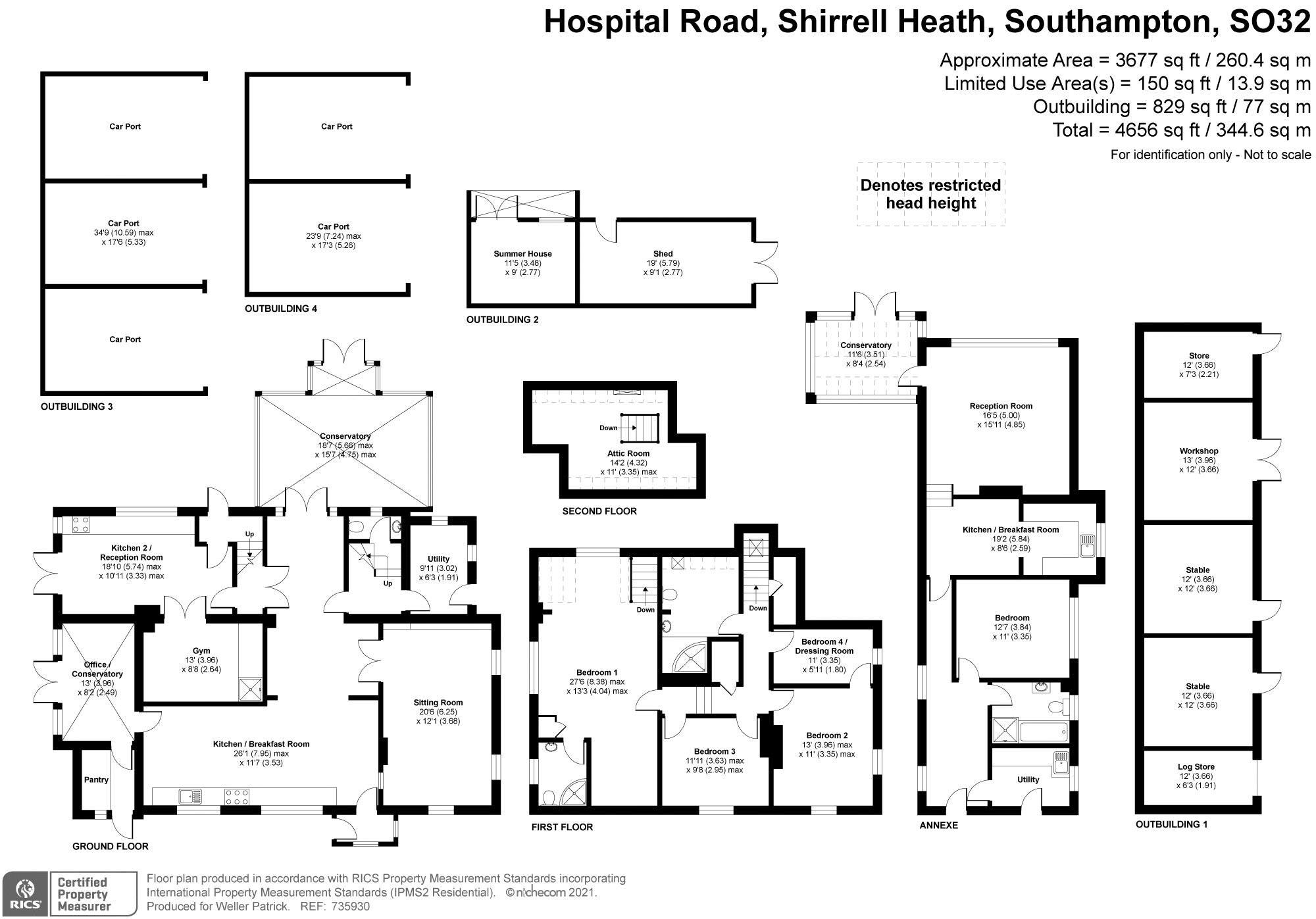 Hospital Road Shirrell Heath