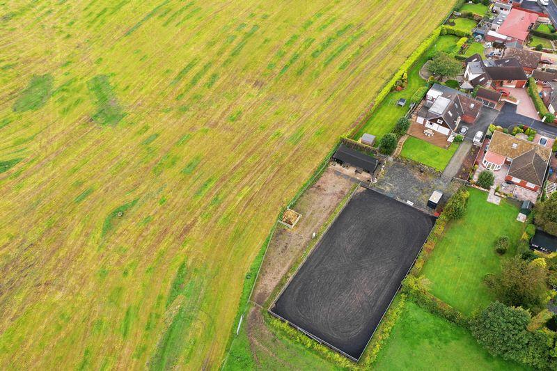 Aerial Of Paddock