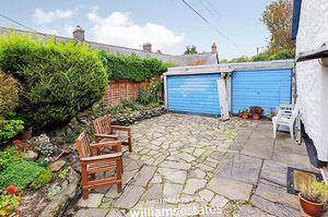 Garage and front garden