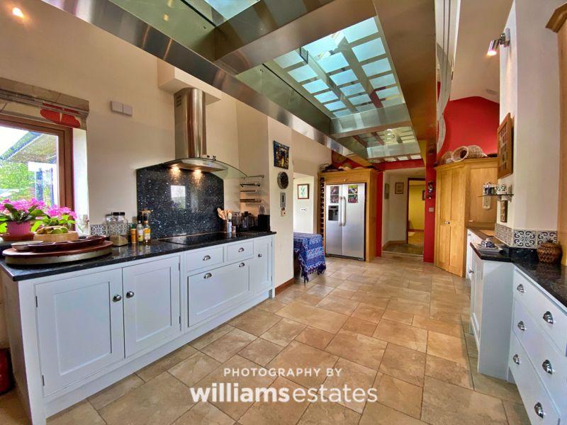 Kitchen and Walkway