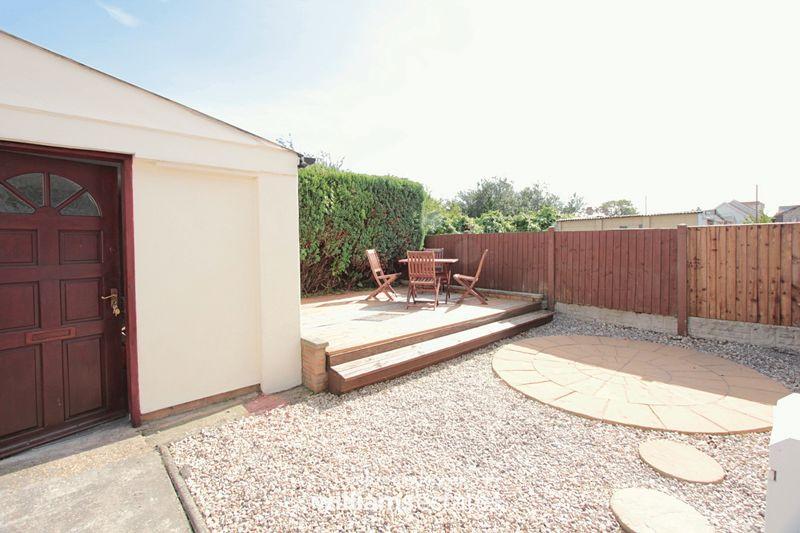 rear garden & outside room