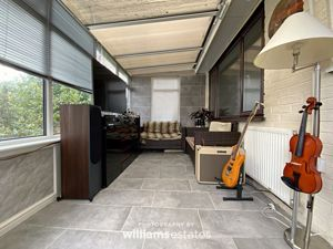 rear conservatory