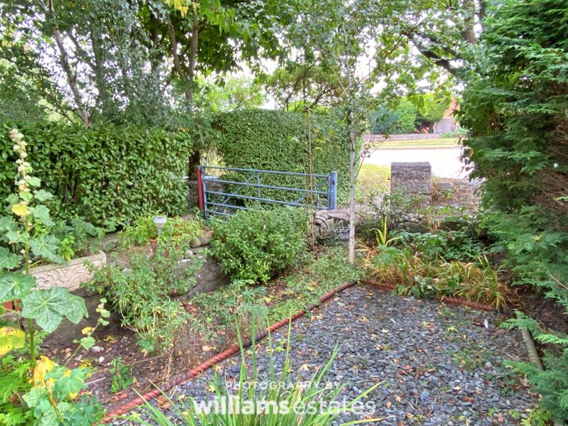 Front garden and access