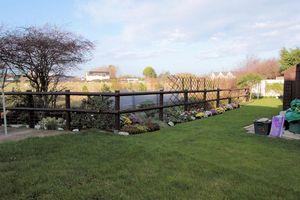 Garden with rear views